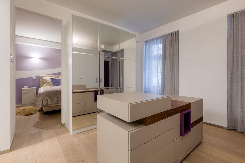 """Schlafzimmer Wien Sanierung Markovic2 1024x683 - Außergewöhnliche Raumgestaltung sorgt für mehr """"Pepp"""""""