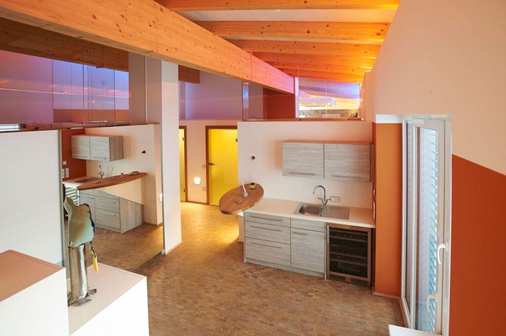 Vorraum Linz Innenarchitektur Daemon 1024x681 - Eine Dachgeschosswohnung optimal einrichten
