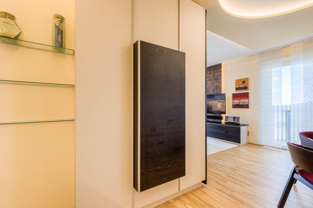 Wohnzimmer St.Poelten Renovierung Lang7 1024x683 - Kleine gemütliche Wohnung mit viel Funktion