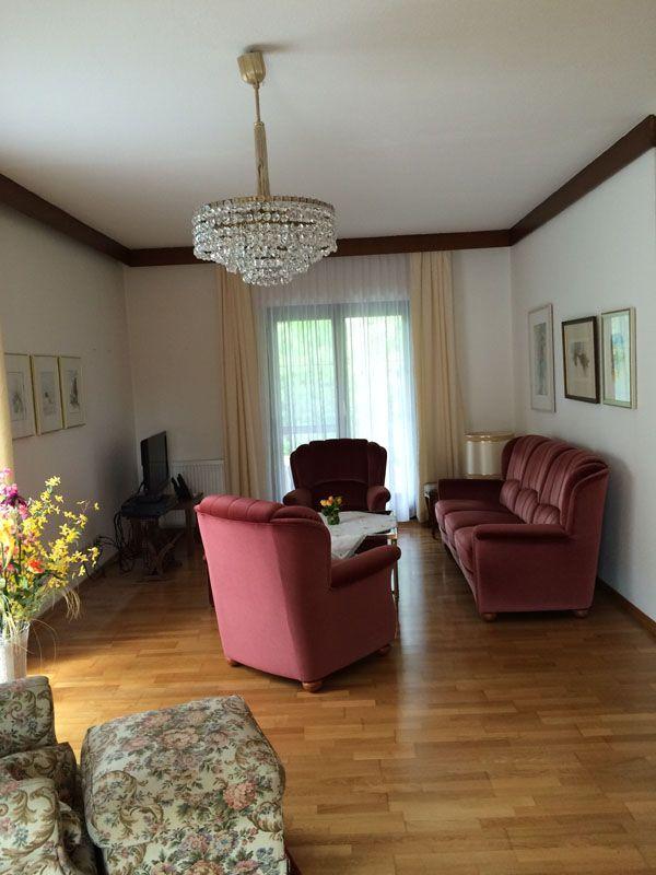 Wohnzimmer Vorher Wien Renovierung Matula1 - Haus-Erdgeschoss-Komplettsanierung