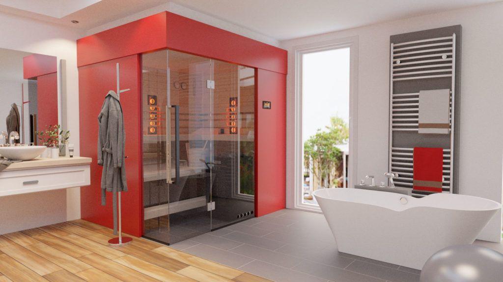 sauna 2 1024x576 - Sauna- und Wellnessbereiche im eigenen Zuhause