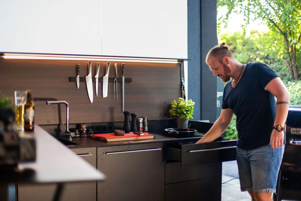 Outdoor kueche kochen - Eine Neuheit unter den Outdoorküchen: Die Grillbar