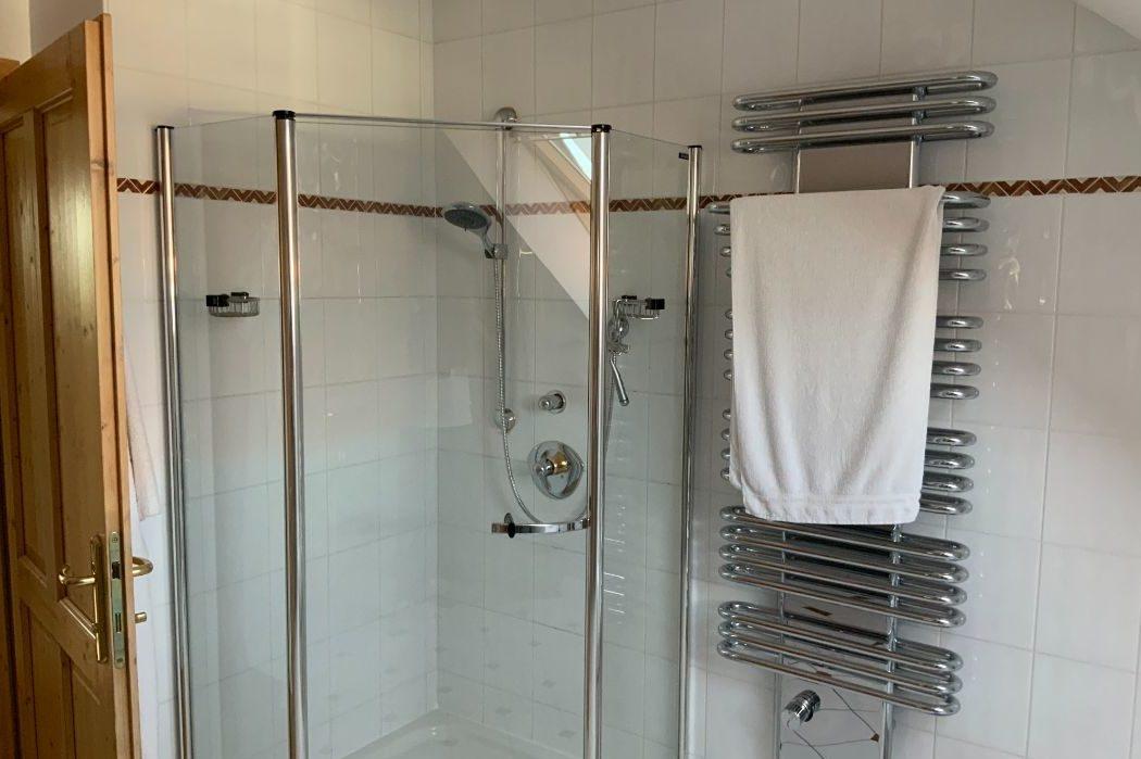 Duschbereich vorher