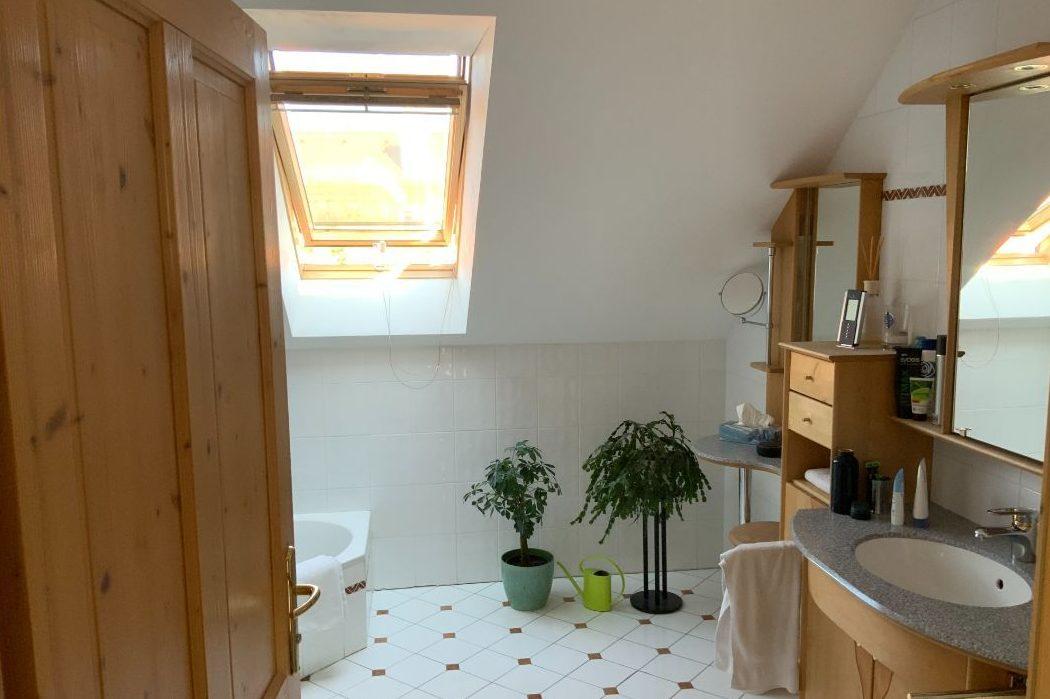 Badezimmer vor Umbau
