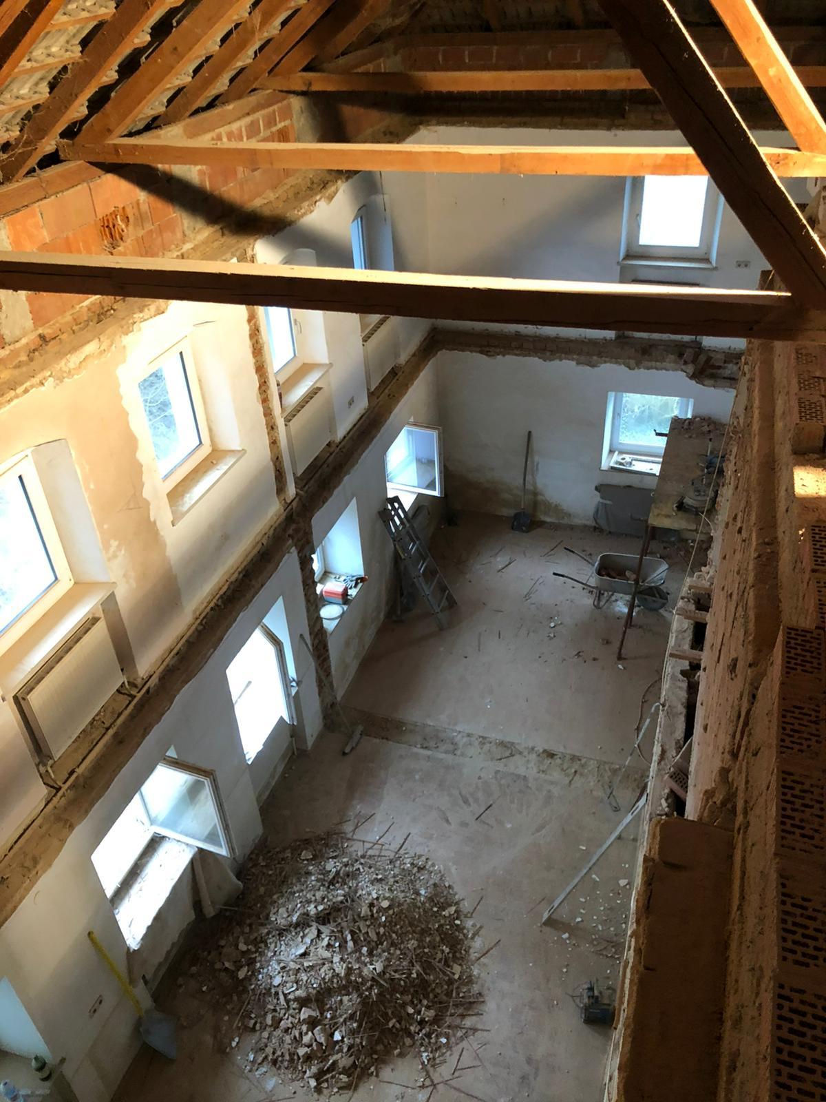 Mistlbacher Abriss Zwischendecke - Moderne Innenarchitektur für ein altes Bauernhaus